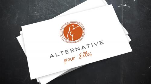 Logos-Clients multiples - Alternatives pour elles - Logo